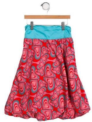 Agatha Ruiz De La Prada Girls' Heart A-Line Skirt