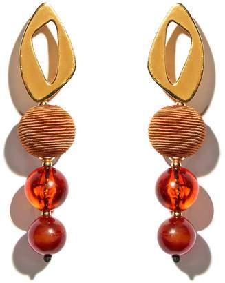 Lizzie Fortunato Cosmic Amber Earrings