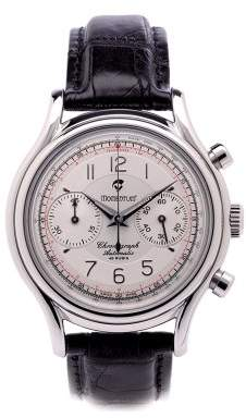 Momentum Men's 1M-CD78S2 Lugano Chronograph Alligator Strap Watch