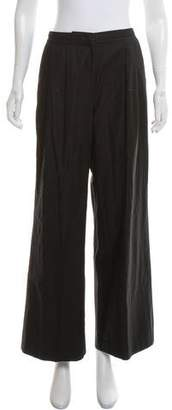 Calvin Klein Collection Wide-Leg High-Rise Pants
