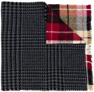 Miu Miu print mix scarf