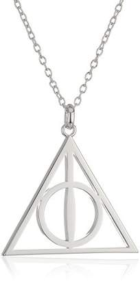 Harry Potter Plated Deathly Hollows Symbol Pendant Necklace