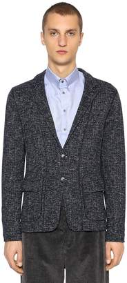 Giorgio Armani Deconstructed Wool Blend Jacket