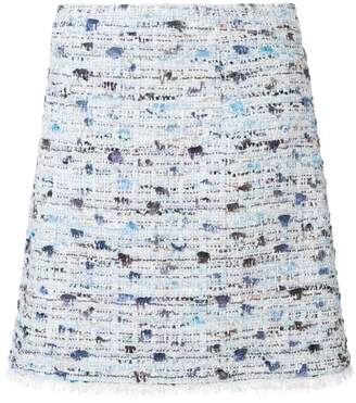 Blumarine gonna bouclè short skirt