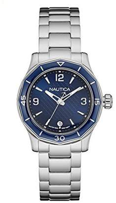 Nautica Women's 'NWS 01' Quartz Stainless Steel Casual Watch, Color:White (Model: NAD16532L) $165 thestylecure.com
