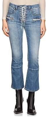 Taverniti So Ben Unravel Project Women's Kickback Lace-Up Jeans