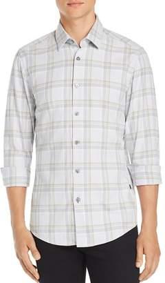 BOSS Letterio Plaid Regular Fit Shirt