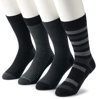 Van Heusen Men's 4-pack Flex Fashion Crew Socks