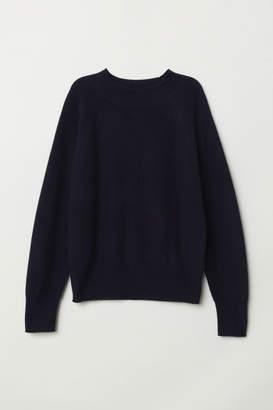H&M Cashmere Sweater - Blue