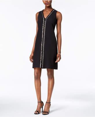 Donna Ricco Embellished Sheath Dress