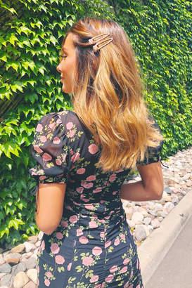 For Love & Lemons Biscotti Mini Dress