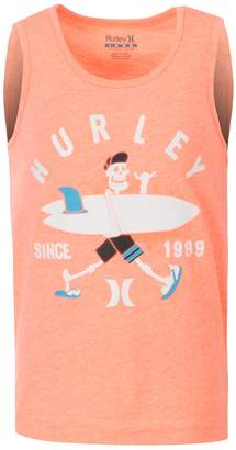 Hurley Boys 4-7 Local Dude Skeleton Surfer Graphic Tank