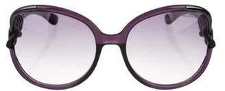 Valentino Square Oversize Sunglasses