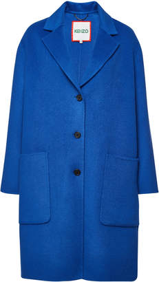 Kenzo Coat with Wool and Cashmere