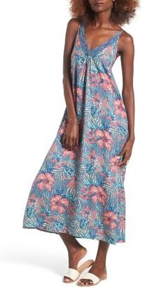 Women's Roxy Optic Diamond Print Maxi Dress $64.50 thestylecure.com
