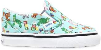 Vans (バンズ) - Vans Andy's Toys Print Cotton Canvas Sneakers