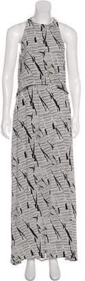 Sass & Bide Printed Maxi Dress w/ Tags