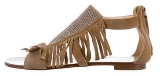 Giuseppe Zanotti Fringe-Embellished Sandals