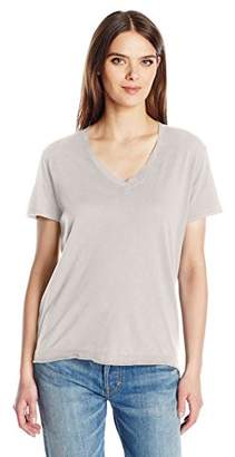 Wilt Women's Shrunken V-Neck Backslant S/s