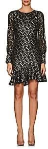 Derek Lam 10 Crosby Women's Silk-Blend Fil Coupé Dress
