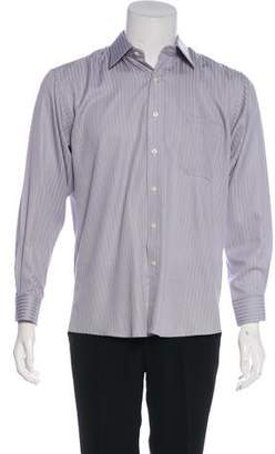 Pierre Balmain Striped Dress Shirt