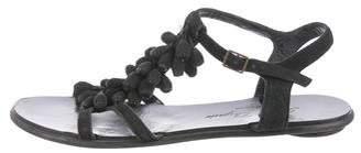 Robert Clergerie Embellished Suede Sandals
