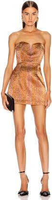 Alice McCall Electric Nights Mini Dress in Copper | FWRD