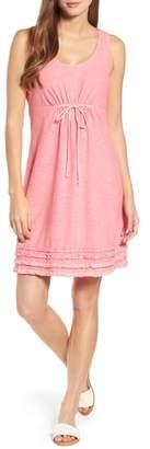 Tommy Bahama Arden Ruffle Hem Dress