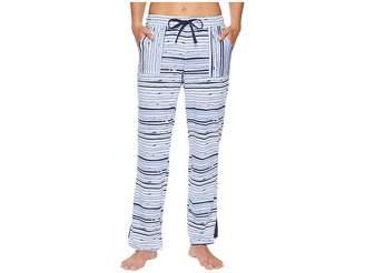 Jockey Cotton Jersey Striped Long Pants Women's Pajama