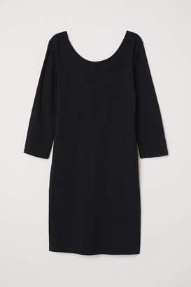H&M Jersey Dress - Black - Women
