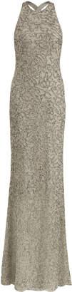 Ralph Lauren Grayden Bead-Embellished Gown