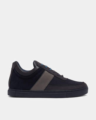 Ted Baker LOEWIN Suede cupsole trainers