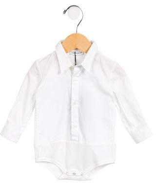 Dolce & Gabbana Infants' Collared Long Sleeve All-In-One w/ Tags