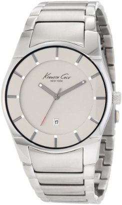 Kenneth Cole New York Men 's kc3891クオーツアナログステンレススチールブレスレット腕時計