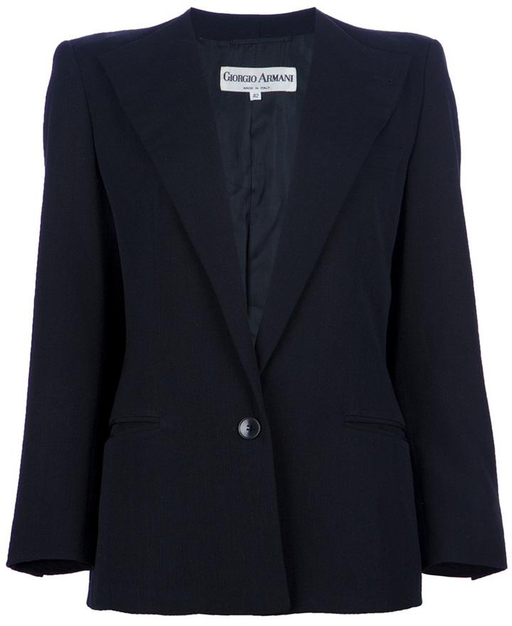 Giorgio Armani Vintage single button jacket