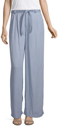 A.N.A Belted Wide Leg Pant - Tall