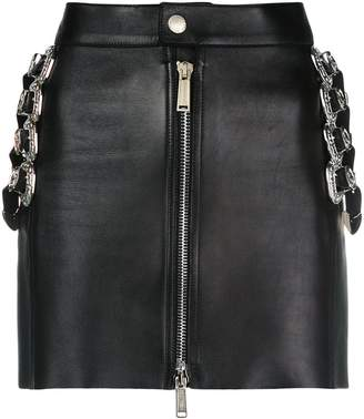 DSQUARED2 mini skirt with belt embellishments