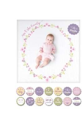 Motherhood Maternity Lulujo Baby's First Year Blanket & Card Set - Isn't She Lovely