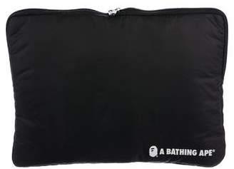 A Bathing Ape Logo Nylon Pouch