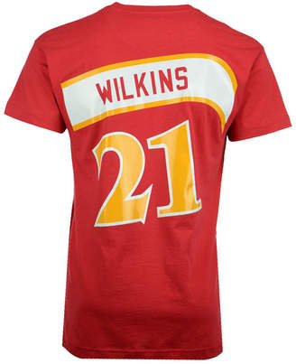 Mitchell & Ness Men Dominique Wilkins Atlanta Hawks Hardwood Classic Player T-Shirt
