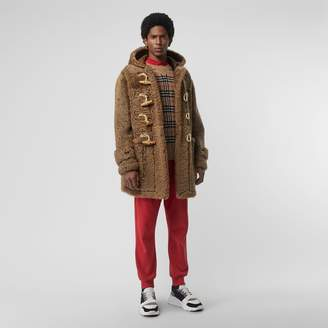 Burberry Shearling Duffle Coat