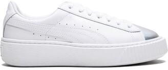 Puma contrast toe cap sneakers