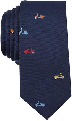 Bar Iii Men's Vespa Conversational Skinny Tie, Created for Macy's $55 thestylecure.com