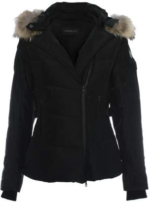 Oakwood Medaille Black Padded Fur Trim Hooded Jacket