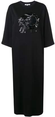 McQ embellished jersey dress