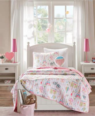 Mi Zone Kids Bonjour 3-Pc. Twin Coverlet Set Bedding