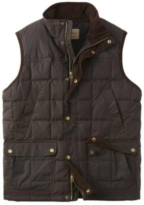 L.L. Bean Men's L.L.Bean Upcountry Waxed Cotton Down Vest