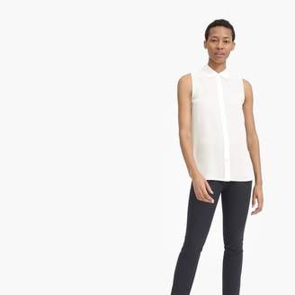 Everlane The Clean Silk Relaxed Sleeveless Shirt