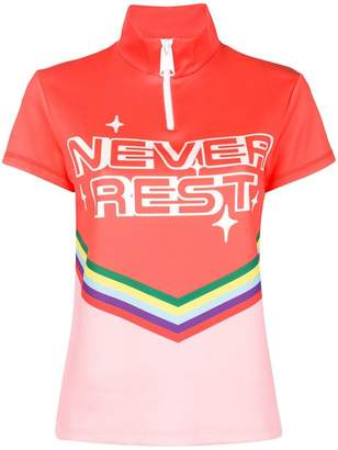 Mira Mikati New Rest printed scuba top