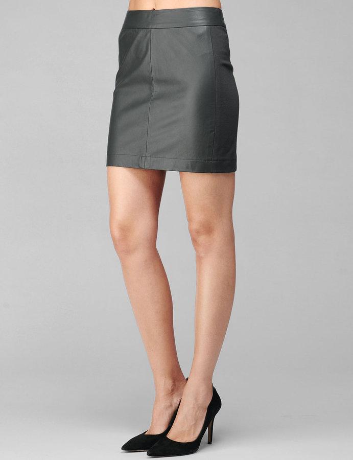 Paige Marina Skirt - Phantom Grey